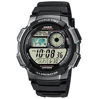 Casio Uhr AE-1000W-1B Digital Armbanduhr Herren Schwarz Sport Watch NEU & OVP