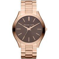 Michael Kors Uhr MK3181 Damenuhr Roségold Edelstahl Slim Armbanduhr NEU & OVP