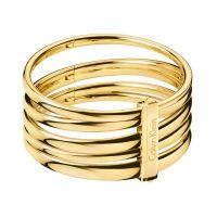 Calvin Klein Armreif KJ2GJD1001XS Damen Edelstahl Gold NEU & OVP