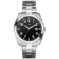 Guess Uhr W85082G2 Herrenuhr Silber Schwarz Weiß Edelstahl NEU & OVP