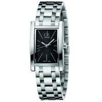 Calvin Klein Uhr K4P23141 Refine Damen Edelstahl Silber Swiss Made NEU & OVP