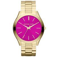 Michael Kors Uhr MK3264 Runway Damenuhr Gold Pink Edelstahl Slim NEU & OVP