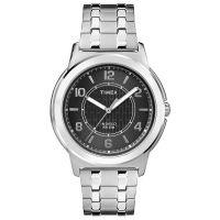 Timex Uhr TW2P61800 MAIN STREET Herren Edelstahl Silber Schwarz Watch NEU & OVP
