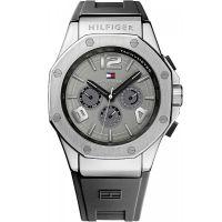 Tommy Hilfiger Uhr 1790933 Herrenuhr Grau Silber Armbanduhr Watch NEU & OVP