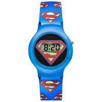 Warner Bros Uhr SM-01 Superman Kinderuhr Jungen Uhr Boys Watch Blau NEU & OVP