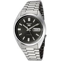 Seiko 5 Gent Uhr SNXS79K Automatikuhr Silber Schwarz Herrenuhr Watch NEU & OVP