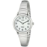Timex Uhr T2H371 EASY READER Damen Edelstahlarmband Silber Watch NEU & OVP