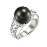 Joop Ring JPRG90494A550 Damen Perle 925er Sterling Silber Zirkonia NEU & OVP