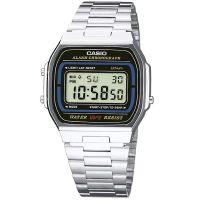 Casio Uhr A164WA-1VES Retro Digitaluhr Armbanduhr Herren Damen Schwarz