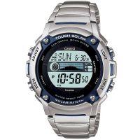 Casio Herrenuhr W-S210HD-1A Armbanduhr Schwarz Solar watch NEU & OVP