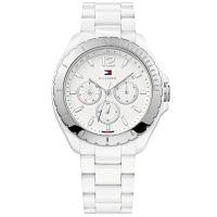 Tommy Hilfiger Uhr 1781427 Damenuhr Weiß Silber Armbanduhr Lady Watch NEU & OVP