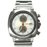 Boss Orange Uhr 1512291 Herrenuhr Chronograph Edelstahl Silber Gold NEU & OVP