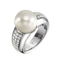 Joop Ring JPRG90481B550 Damen Perlmutt Stein 925er Sterling Silber NEU & OVP