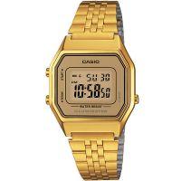 Casio Collection Damenuhr LA680WGA-9DF Armbanduhr Gold Digital watch NEU & OVP