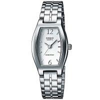 Casio Uhr LTP-1281PD-7AEF Damen Armbanduhr Edelstahl Silber Watch Women NEU & OVP