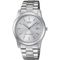 Casio Uhr MTP-1141PA-7A Herren Armbanduhr Edelstahl Silber Datum Watch NEU & OVP