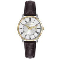 Pierre Cardin Uhr PC901732F03 Le Bouscat Damen Leder Braun Silber NEU & OVP