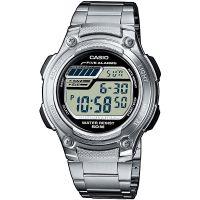 Casio Uhr W-212HD-1AVEF Herren Digitaluhr Armbanduhr Silber Watch NEU & OVP