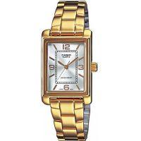 Casio Uhr LTP-1234PG-7A Damen Armbanduhr Edelstahl Gold Silber Watch NEU & OVP