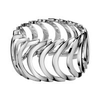 Calvin Klein Armreif KJ2WMB000100 Damen Edelstahl Silber NEU & OVP