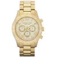 Michael Kors Uhr MK8214 Bradshaw Unisex Gold Edelstahl Chronograph NEU & OVP