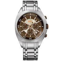 Boss Orange Uhr 1512299 Herrenuhr Chronograph Edelstahl Silber Braun NEU & OVP