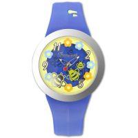 Fiorucci Uhr FR190_3 Kinderuhr Blau Gelb Rot Children's Watch NEU & OVP