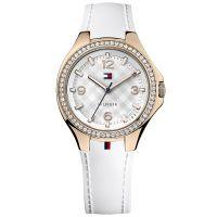 Tommy Hilfiger Uhr 1781374 Toni Damenuhr Roségold Weiß Lady Armbanduhr NEU & OVP