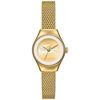 Lacoste Uhr 2000876 Valencia Damen Edelstahlarmband Gold Watch NEU & OVP