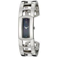 Calvin Klein Uhr K3Y2M11S Dress Damen Edelstahl Silber Swiss Made NEU & OVP