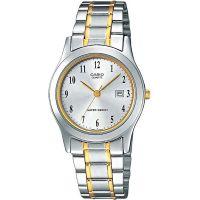 Casio Uhr LTP-1264PG-7BEF Damen Armbanduhr Edelstahl Silber Lady Watch NEU & OVP