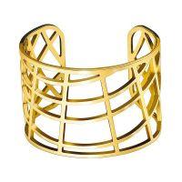 Calvin Klein Armreif KJ1TJF1001XS Damen Edelstahl Gold NEU & OVP