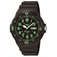 Casio Unisexuhr MRW-200H-3B Armbanduhr Damen Herren Schwarz Sport NEU & OVP