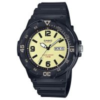 Casio Uhr MRW-200H-5B Herren Damen Armbanduhr Schwarz Gold Sport Watch NEU & OVP
