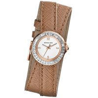 Michael Kors Uhr MK2338 Mini Madison Damenuhr Weiß Leder Double Wrap NEU & OVP