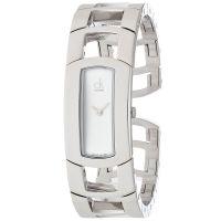 Calvin Klein Uhr K3Y2M116 Dress Damen Edelstahl Silber Swiss Made NEU & OVP