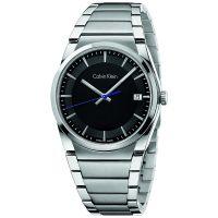 Calvin Klein Uhr K6K31143 Step Herren Edelstahl Silber Swiss Made NEU & OVP