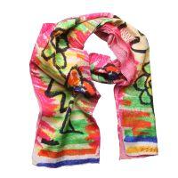 Vivienne Westwood Tuch VW032_3 Pink Designer Seidentuch Damen Schal NEU & OVP