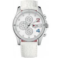 Tommy Hilfiger Uhr 1780931 Damenuhr Weiß Silber Armbanduhr Lady Watch NEU & OVP