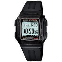 Casio Uhr F-201WA-1A Digital Armbanduhr Herren Damen Schwarz Watch NEU & OVP