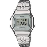 Casio Uhr LA680WEA-7EF Digitaluhr Armbanduhr Damen Silber Watch Women NEU & OVP