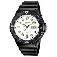 Casio Uhr MRW-200H-7E Herren Damen Armbanduhr Schwarz Weiß Sport Watch NEU & OVP