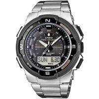Casio Uhr SGW-500HD-1B Herren Damen Analog Digital Schwarz Silber NEU & OVP