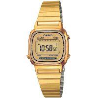 Casio Uhr LA670WGA-9DF Digital Damen Gold B-WARE mit Gebrauchsspuren