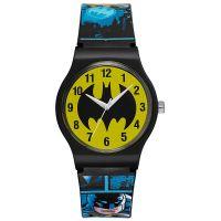 Warner Bros Uhr BM-02 Batman Kinderuhr Jungen Uhr Boys Watch Blau NEU & OVP