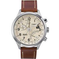 Timex Uhr T2N932 IQ FLY-BACK Intelligent Herrenuhr Chronograph Leder NEU & OVP