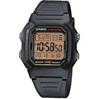 Casio Uhr W-800HG-9A Herren Damen Digitaluhr Armbanduhr Schwarz Watch NEU & OVP