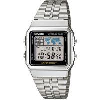 Casio Retro Digitaluhr A500WA-1DF Herren Damen Silber B-WARE mit Gebrauchsspuren