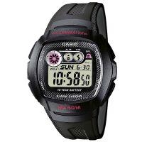 Casio Uhr W-210-1CVES Herren Damen Digitaluhr Armbanduhr Schwarz Watch NEU & OVP