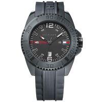 Tommy Hilfiger Uhr 1791042 Owen Herren Silikon Grau Schwarz Watch Men NEU & OVP